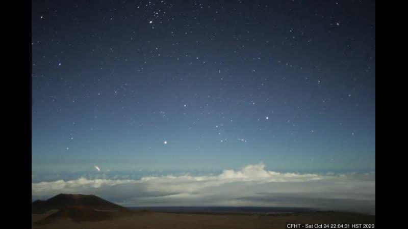 24.10.2020..ГАВАЙИ...таймлапс телескопа Мауна-Кеа...