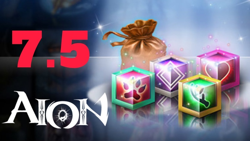AION MMORPG 2020 Beginners Guide - How To Get CUBES FOR BETTER STATS OF CHARACTER In New 7.5 Update