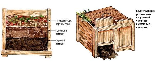 Как правильно ухаживать за компостом 1. Один раз в месяц компостную кучу необходимо ворошить. При этом хорошо достичь наиболее полноценного перемешивания остатков. Это сделает органику рыхлой,