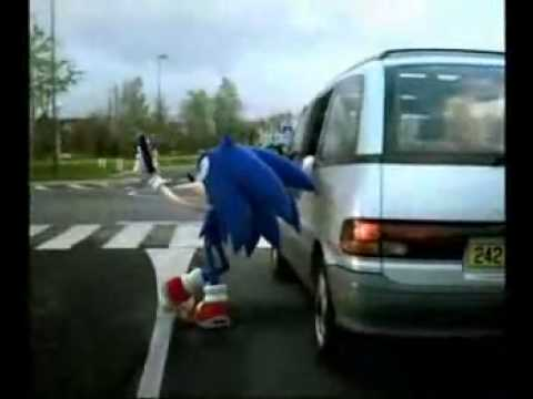 2004 Sonic the Hedgehog Commercial McDonald's Happy Meal France