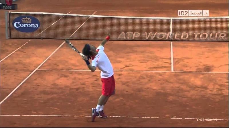 2013 Hamburg Quarter Final Haas vs Fognini Highlights