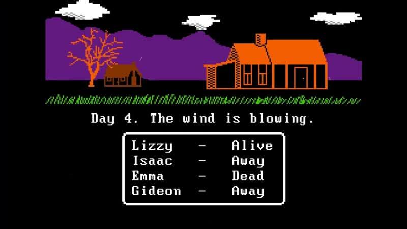Disturbing Horror Games DHG 24 Обзор игры The Wind для PC 8 бит хоррор ретро ужасы