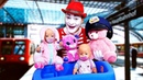 Беби Бон катаются на поезде - Смешное видео - Мультики для детей