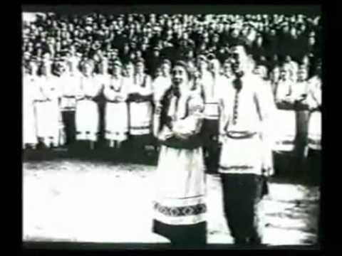 Yidish song in Bialystok 1940