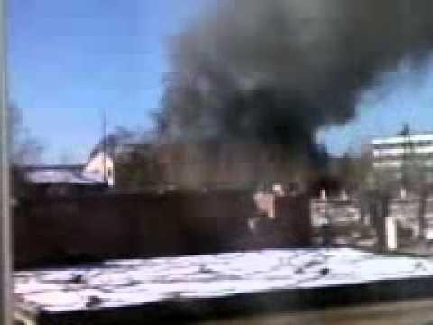Александровский Завод пожар в детском саду