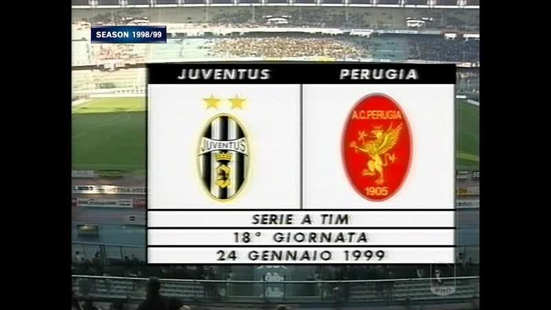 Serie A 1998 99 g18 Juventus Perugia