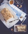 Семифредо на мёде с грецкими орехами