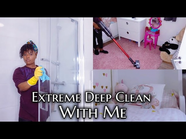New Clean With Me Motivation 2021 ft Ultenic Cordless Cleaner Awura Abena