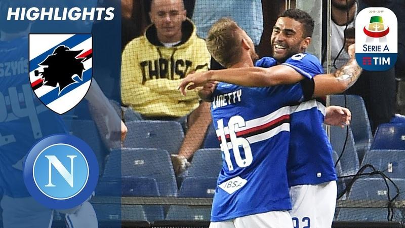 Sampdoria 3 0 Napoli La Sampdoria ribalta i pronostici e guadagna tre punti Serie A