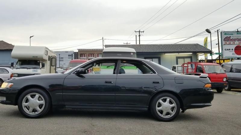 Toyota Mark II Tourer-V 1993 1JZ-GTE twin turbo