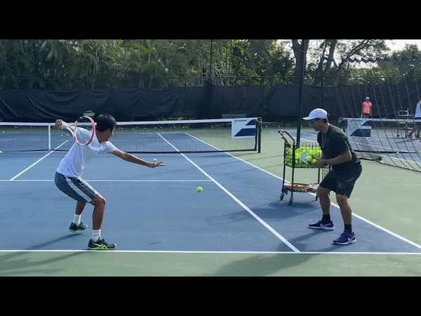 HIGH PERFORMANCE TENNIS DRILLS FOR ALL AGES with Coach Dabul ATP Intensity Tennis Training