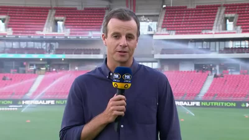Чемпионат Австралии 2018 19 20 й тур Ньюкасл Джетс Аделаида Юнайтед