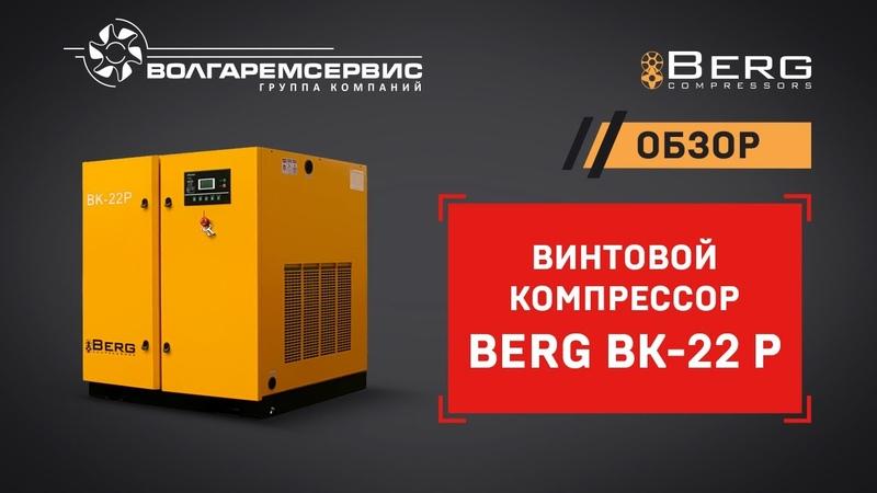 Винтовой компрессор Berg Берг устройство и принцип работы