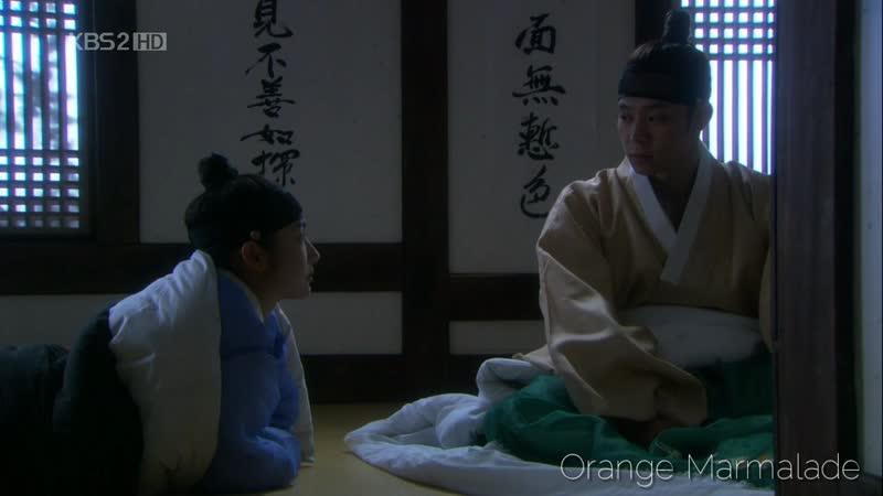 Отрывок из дорамы «Скандал в Сонгюнгване» (Ким Юн Хи) 16 серия. Озвучка GREEN TEA