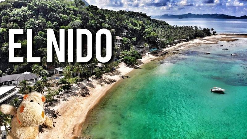 ELNIDO самый крутой пляж 4K, Philippines DJI Palawan