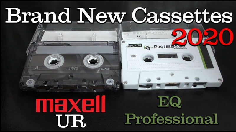 New Maxell UR New EQ Professional - 2020 - Type 1 Cassettes