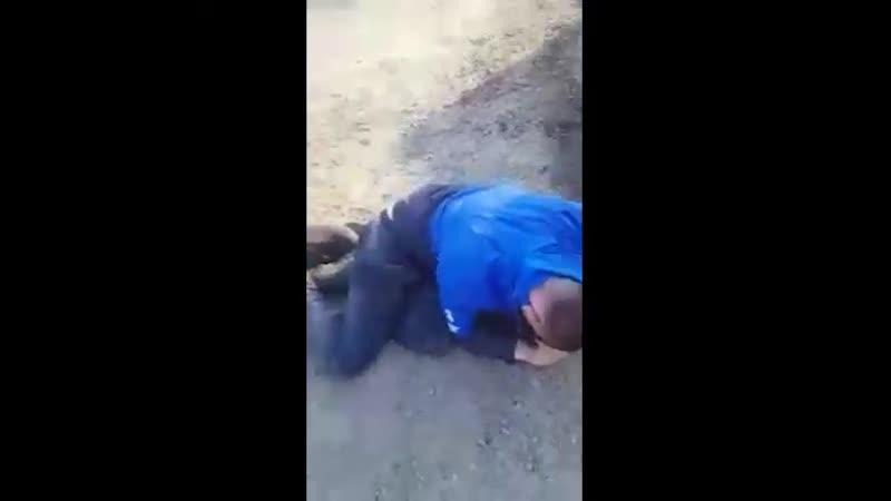 В Хабаровском крае мужик один жестко наказал троих гопников