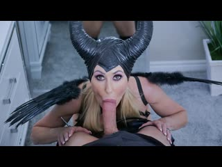 Brandi Love - Maleficent (MILF, Big Tits, Blowjob, Blonde, Parody, Cosplay)