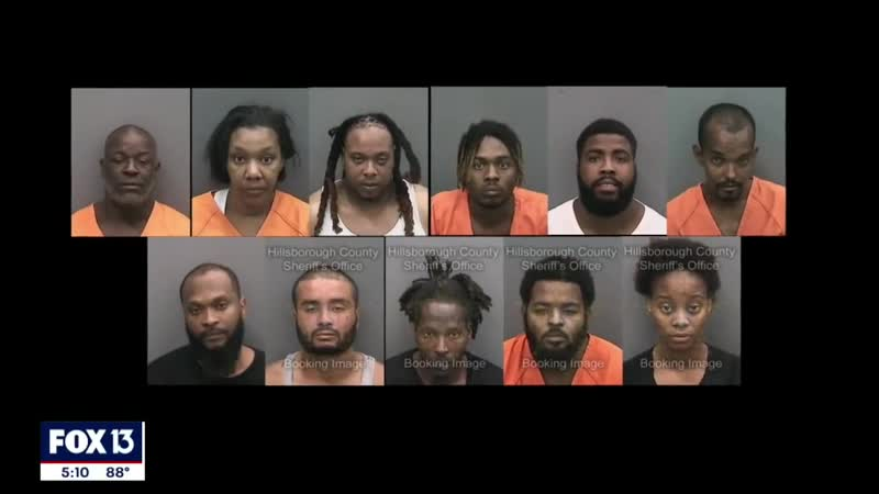 11 face felony charges from night of looting in Tampa 2