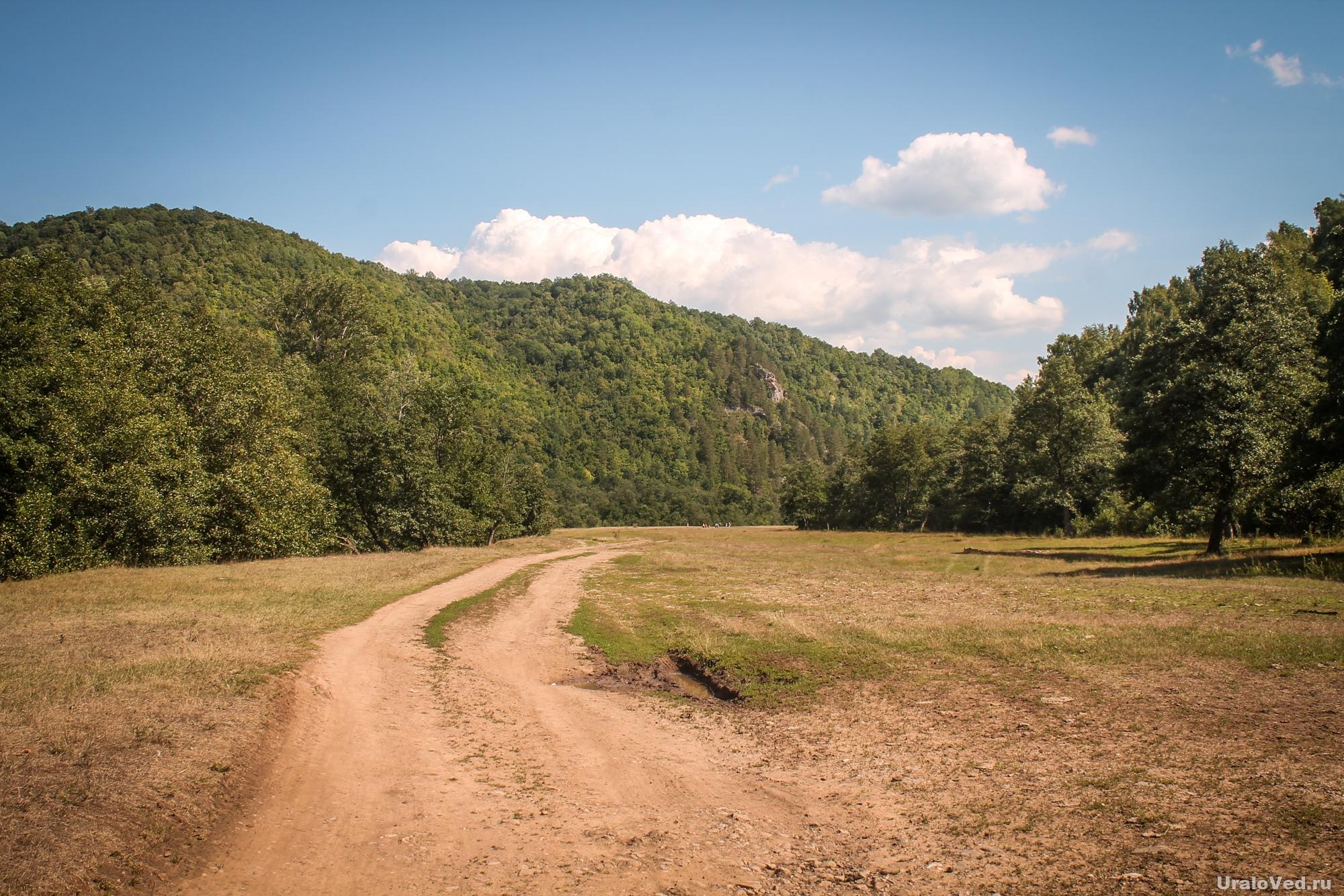 Дорога в Гумеровское ущелье