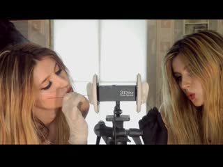 ASMR - EAR CLEANING by FUNNY TWINS