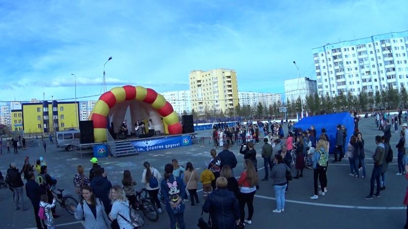 F.P.F. - От Волги до Енисея (cover ЛЮБЭ) День России 2018 г. Надым