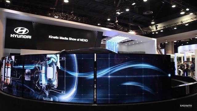 CES 2018 Hyundai Motors Exhibition