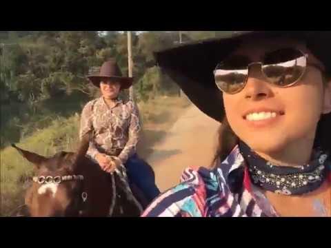 VLOG 2ª Romaria Feminina Por Gabi Gobo Canal Jeito de Cowboy