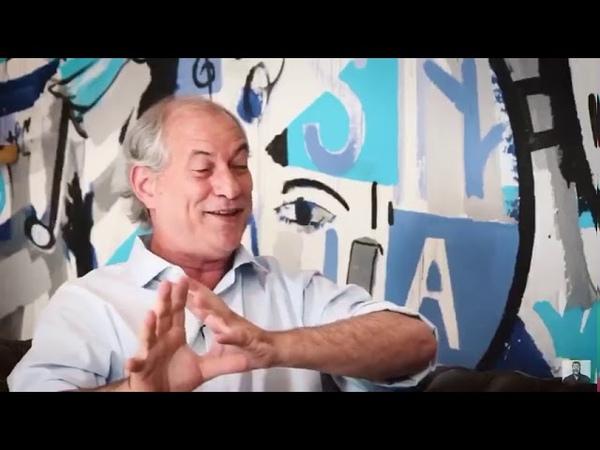 Ciro Gomes defende Bolsonaro e diz que a crise atual foi criada pelo PT
