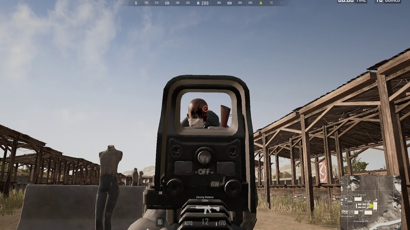 If you ever wonder why you missed in PUBG watch this video.