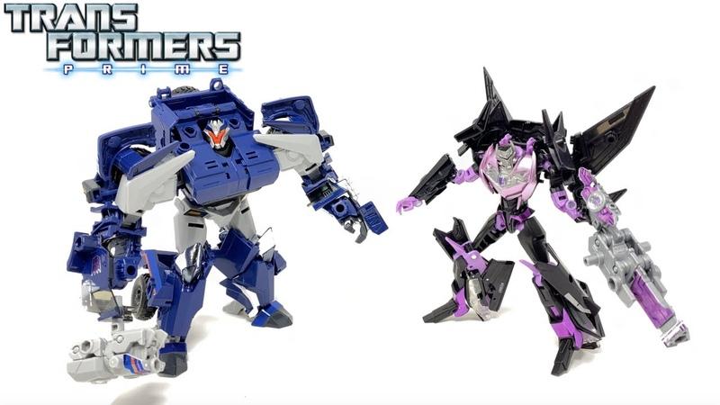 Transformers Prime 10th Anniversary War Breakdown Jet Vehicon Review