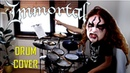 IMMORTAL drum cover - The Unsilent Storms In The North Abyss