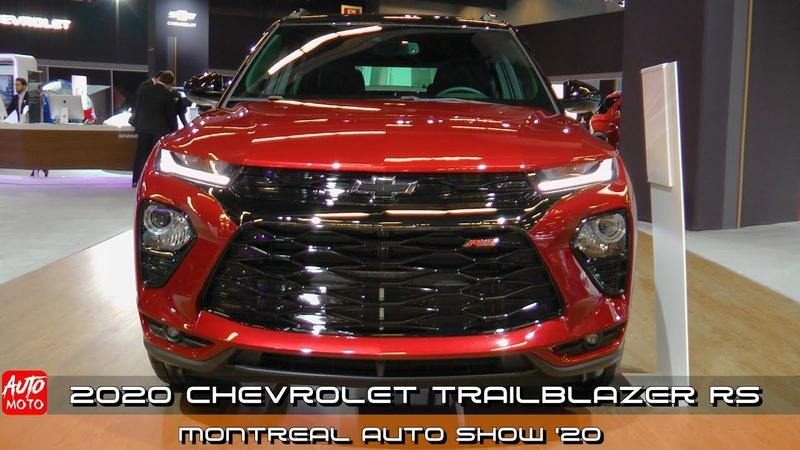 2021 Chevrolet Trailblazer RS Exterior And Interior Montreal Auto Show 2020