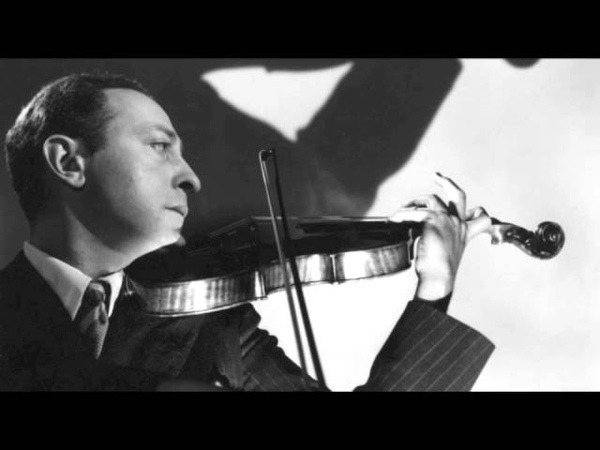 Heifetz plays his transcription of Foster's Jeannie with the Light Brown Hair ('live')
