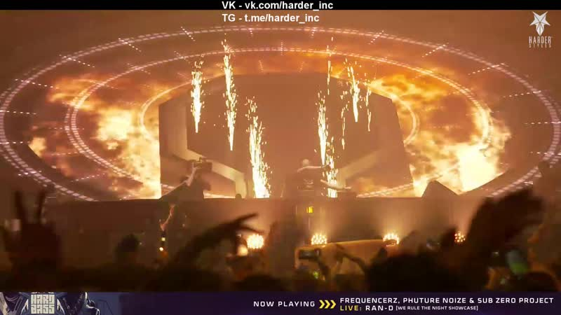 Ran-D 'We rule the Night Showcase' (LIVE) - Live at Hard Bass 2019 - The Last Formation (Team Yellow)