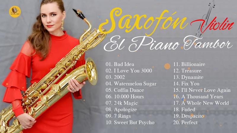 Saxofón Violín Tambor Cajón El Piano 2020 Ariana Grande Anne Marie Saxofón 2020 2021