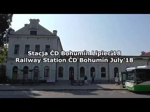 Stacja ČD Bohumín [ SC EC IC LE EX R OS Cargo ]