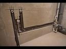Выполнение работ по устройству штроб и скрытому монтажу водопровода, канализации, электрики.