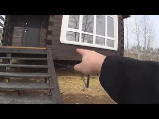 Что случилось с домом! Деревянный дом из бруса своими руками, результаты стройки