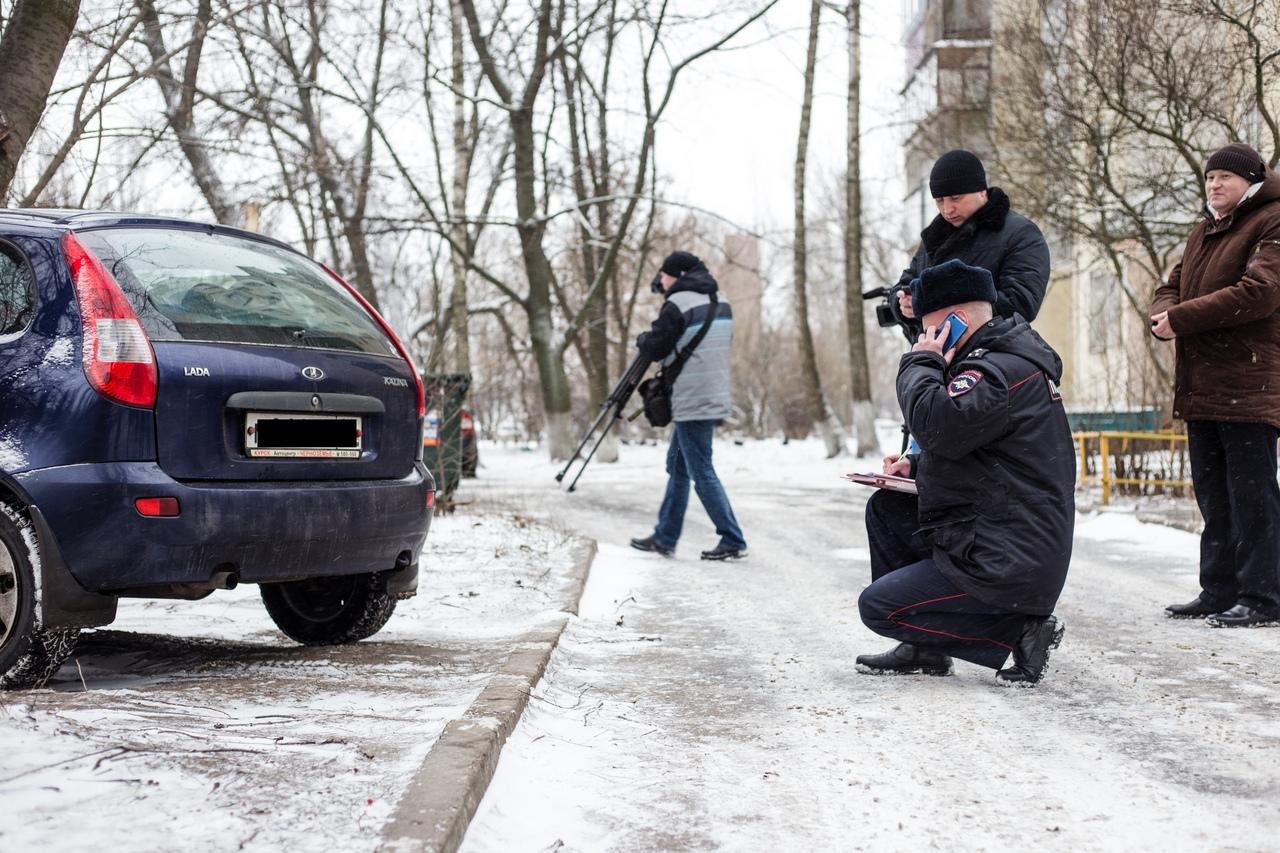 В Курске за нарушение парковки уже оштрафовали 26 автовладельцев