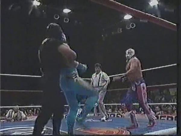 My1 Volador Rey Misterio Jr Transformer vs Eddy Guerrero Santo Negro Misterioso