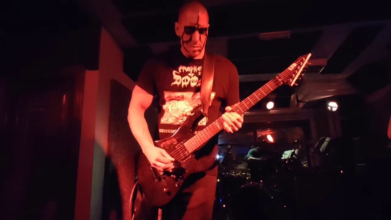 DEATHWOMB Live @La Choza (Partial set)