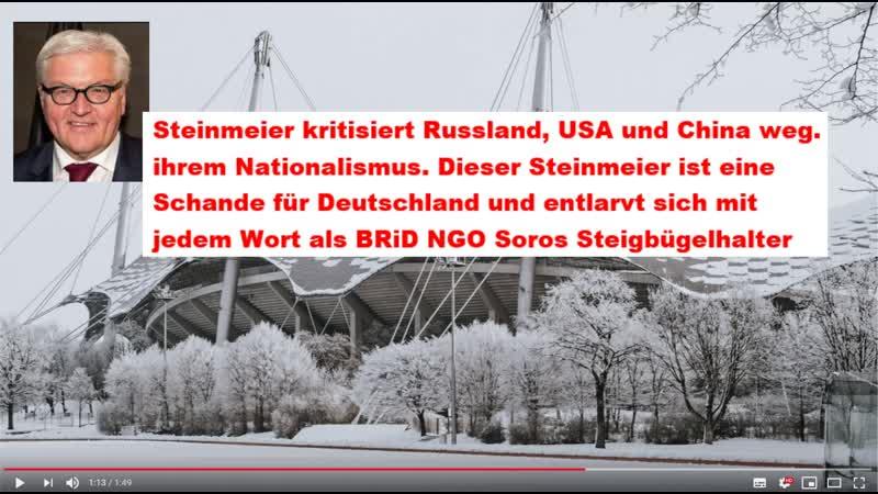 Frank Walter Steinmeier Kommentar von Maik Schmurdy
