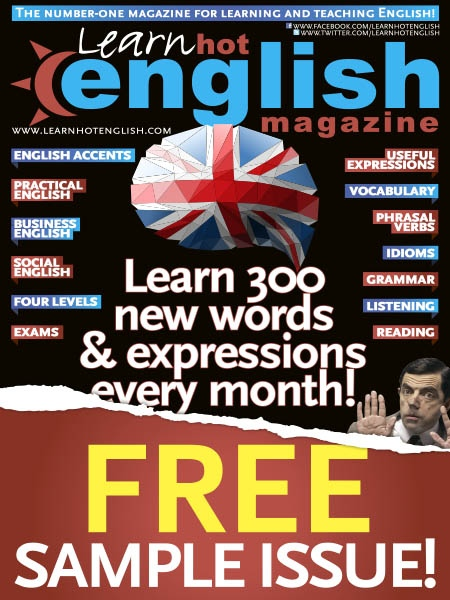 Learn Hot English - Sample issue Learn Hot English 2019