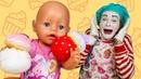 Смешные видео игры - Малыш БЕБИ БОН съел все Пироженки! – Новые мультики для детей с Baby Born