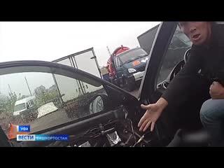 В Уфе арестовали очередного пьяного водителя без прав