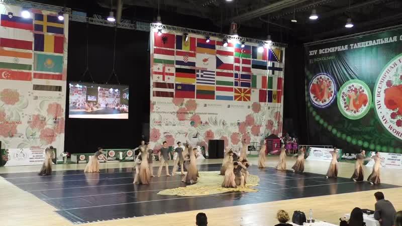 Танцевальное шоу Олимпиада Смешанный формейшен финал