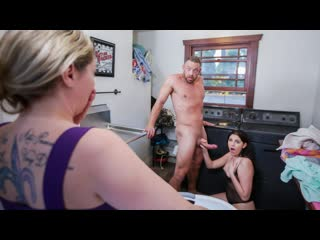 Miranda Miller - Laundering A Dirty Stepdaughter Mind (Doggystyle, Indoor, Teen, Lingerie, Small Tits, Cum In Mouth, Step Dad)