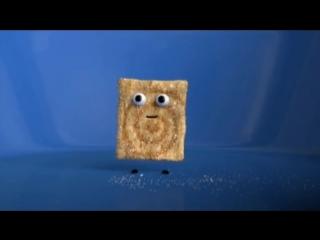 ШОК-видео: квадратики с корицей едят друг друга