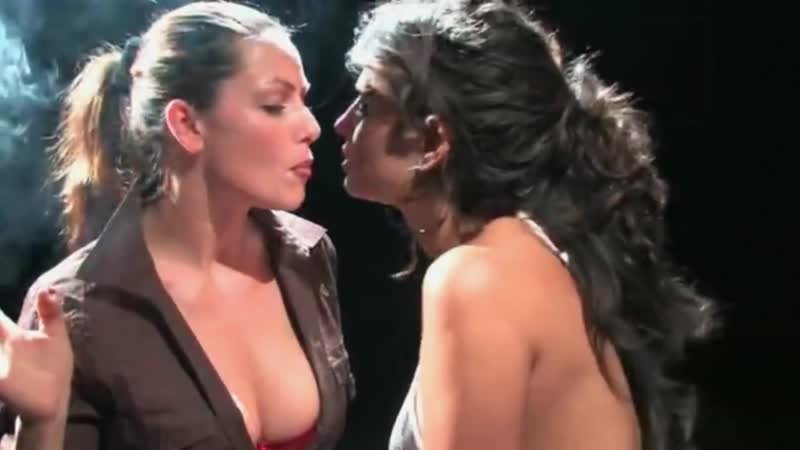 Vanessa and Emily smoking lesbian
